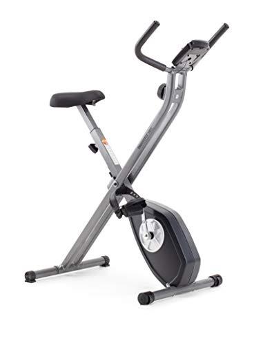 CADENCE Unisex - Bicicleta estática plegable SMARTFIT 100, negro y plata