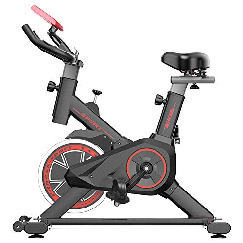 Bicicleta Estática  Bicicleta de Interior ,6 Ajustes de Altura de Reposabrazos y Cojines,Magnetorresistencia ilimitada,Monitor LCD de Frecuencia Cardíaca,Mini Bicicleta estática para mujer