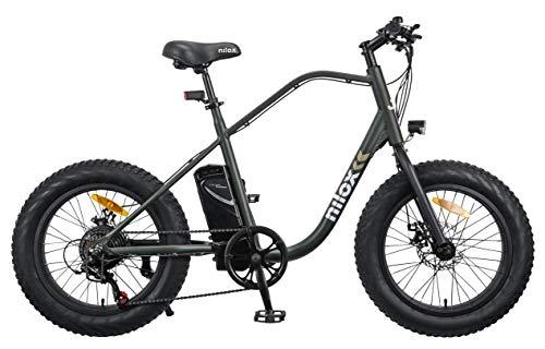 Nilox 30NXEB203V003V2 - Bicicleta eléctrica E Bike 36V 7.8AH 20X4P - J3, Motor 36 V 250 W, batería Recargable de Litio 36 V 8 Ah, Carga Completa 4 h, chasis Aluminio, Velocidad máxima 25 km/h
