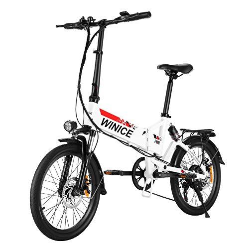 Bicicleta eléctrica Plegable de 20