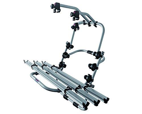 Fabbri 6201801 Portabicicletas trasero, capacidad para 3 bicicletas