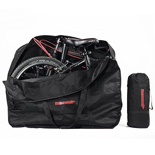 Bolsa Transporte Bicicleta Plegable, Selighting Bolsa de Almacenamiento de Bici Bolsa para el manillar Bolso Plegable para el Envío de Viajes, 20 Pulgadas