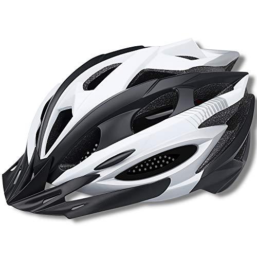 Lululeague - Casco de Ciclismo para Adultos, para Bicicleta de montaña, 20 Canales de ventilación