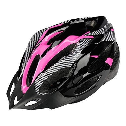 Xmansky Casco de Bicicleta para Adultos Ligero Casco de Bicicleta para Hombres y Mujeres Casco de Bicicleta Ajustable Casco de Bicicleta Casco de Bicicleta para Adultos
